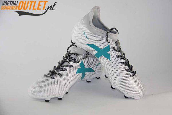 Adidas X 17.3 wit voor-en zijkant (S82362)