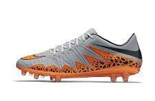 Nike Hypervenom Phinish grijs oranje