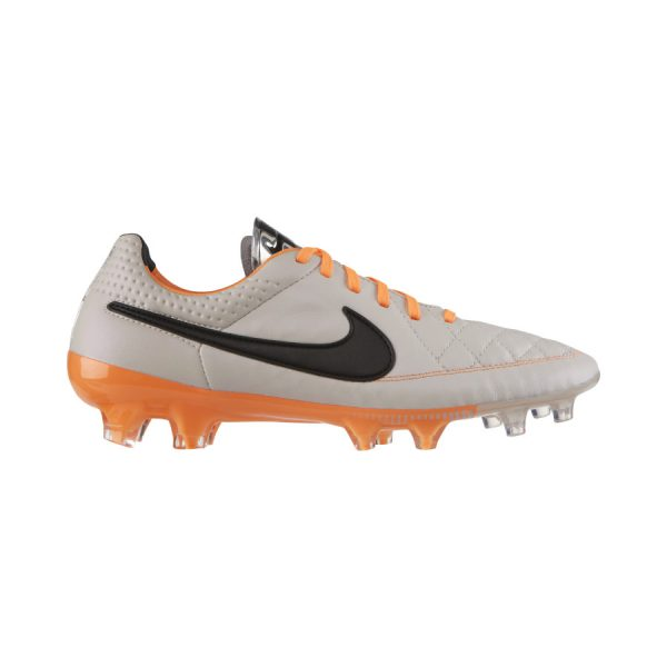 Nike Tiempo Legend grijs oranje 631518-008