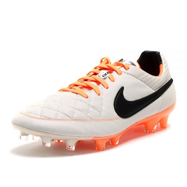 Nike Tiempo Legend grijs oranje 631518-008-detail2