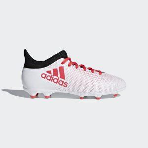 Adidas X 17.3 Wit rood Kids FG